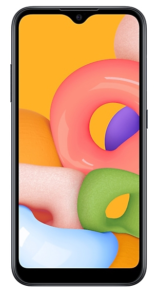 Смартфон Samsung Galaxy A01 16Gb Чёрный (SM-A015F)